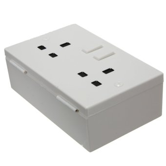 Wall Socket Hiding Electric Flashboard Secret Safe Security Valuable Storage Box