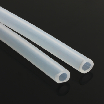 Harga 4*6mm Clear Food Translucent Silicone Tube Approved Milk Hose Beer Pipe Soft Rubber(Export)(Intl)