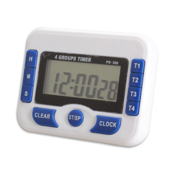 Harga 4-Channel Digital Timer Wide Screen Clock Timing Device Professional