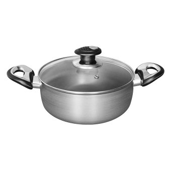 Harga Amigo 22cm Hard-Anodised Saucepot HA2211-SP Anodised Grey