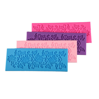 Jetting Buy Cake Mould Flower Leaf Silicone Lace