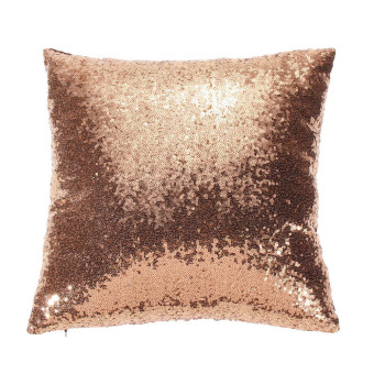 Harga Glitter Sequins Lounge Cushion Cover (Champagne)