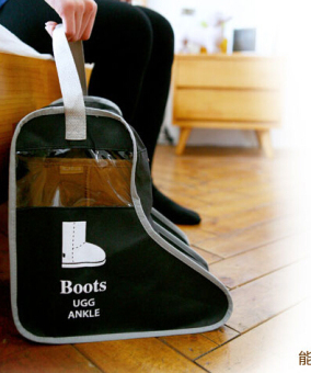 Mu Hui boots snow boots Storage bags visible dust bag shoe covers