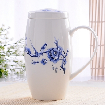 Ceramic large capacity office cup creative mug
