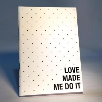 Harga Love made me do it notebook