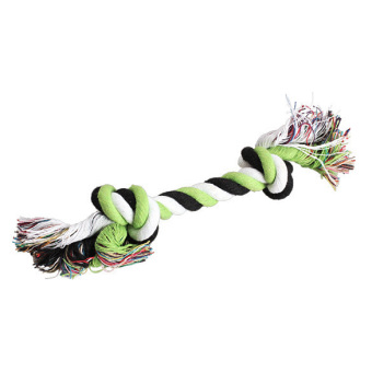 Harga Pet Cotton Rope Bone Chew Tug Toy