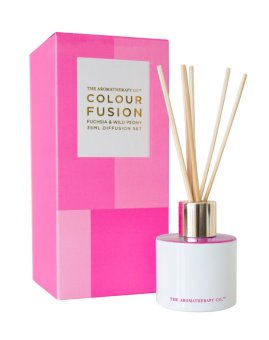 Harga The Aromatherapy Co. Colour Fusion Fuchsia & Wild Peony Diffusion Set 35ml
