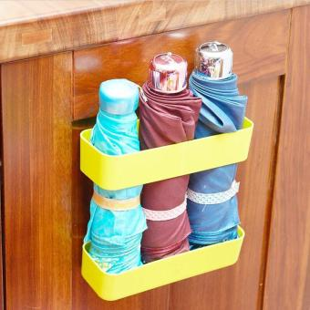 Harga Umbrella Storage Rack Holder Stand Adhesive Orangizer Umbrellas Hanger Home Office Decor Home Storage Racks 18.5x6.5x4cm - intl