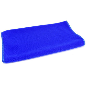 Harga Blue Absorbent Wash Cloth Car Auto Care Microfiber Cleaning Towels