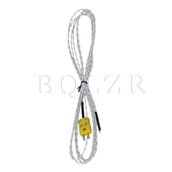 Harga Meter K Type Thermocouple Cable (White)