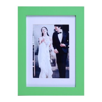 Harga A1 A2 A3 A4 Certificate Photo Picture Poster Snap Large Clip Frame Non Glass (Green)