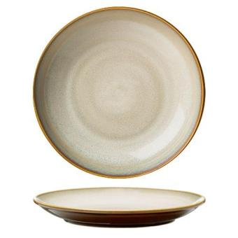 Harga Luzerne Rustic Sama 26.5cm Round Coupe Plate (4pc) [Colour]