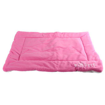 Harga Dog Crate Mat Kennel Cage Pad Bed (pink size M)