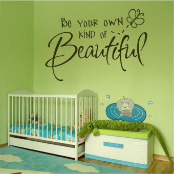 Harga Waterproof wall stickers can be in addition to children room 8087 56 38cm Be your Own kind