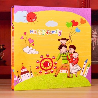 Harga New Cartoon Pattern Photo Album Book Photo Image Album Scrapbook 600 Inner - intl
