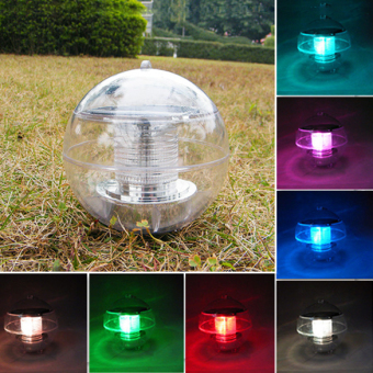 Harga Solar Power Color Changing Floating Light