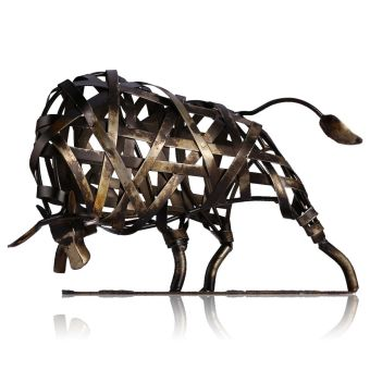 Harga Metal Sculpture Iron Braided Cattle Home Furnishing Articles Handmade Crafts(Export)(Intl)