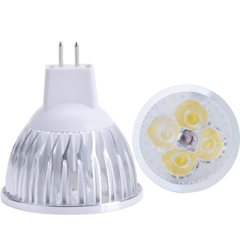 Harga 12W MR16 LED Spot Lights Lamp Bulb Cold White (White)