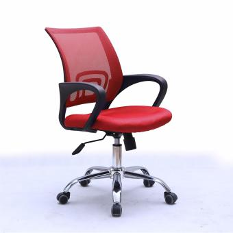 Harga Simple Mesh Office Chair B100-RED (Free Delivery)
