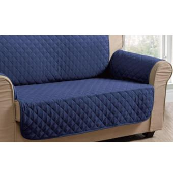 Harga Sofa Protector / Slip cover / Furniture Protector 2seater Blue