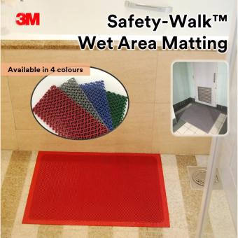 Harga 3M™ Safety-Walk™ Wet Area Matting 3200 Grey 0.45 x 0.6m