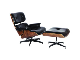 Harga Eames Aniline leather Lounge Chair