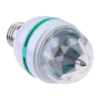 Harga Auto 3W Rotating RGB Stage Crystal Magic Light Bulb Lamp Disco Party