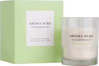 Harga The Aromatherapy Co. Aroma Pure Wild Lime & Tangelo Candle 200g