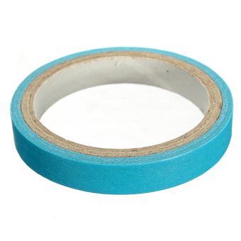 Harga Washi Tape Candy Color Sticky Paper Adhesive Label Craft 0.7cm Peacock Blue