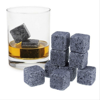 Harga 9PCS New Magic Whisky Cooling Stone Ice Cubes Rocks Cold Glacier Stone