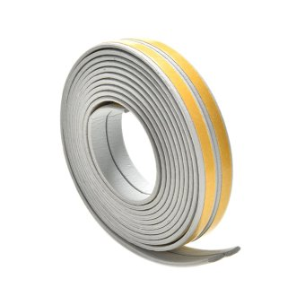 Harga Buytra 5M E/D/I-type Foam Draught Self Adhesive Window Door Excluder Rubber Seal Tape Grey I