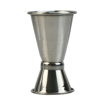 Harga Stainless Jigger Single Double Shot Cocktail Wine Short Bar Measure Cup