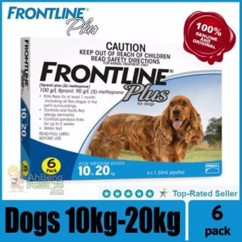 Frontline Plus (Dogs 10-20kg) 6 dose