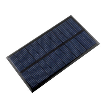 Harga Mini 6V 1W Solar Power Panel Solar System DIY For Cell Phone Chargers Portable U