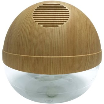 Harga Water Air Purifier W/ Ionizer and LED (Pine Wood)