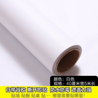 Harga Dormitory bedroom wall stickers self adhesive wallpaper living room cozy bedroom decor wallpaper pvc waterproof furniture refurbished sticker