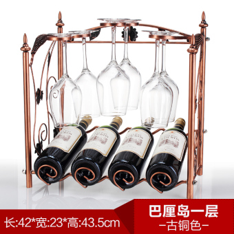 Harga Wrought Iron Wine Rack creative wine rack upside down wine glass rack fashion furnishings wine rack hanging cup holder multi-bottle wine rack