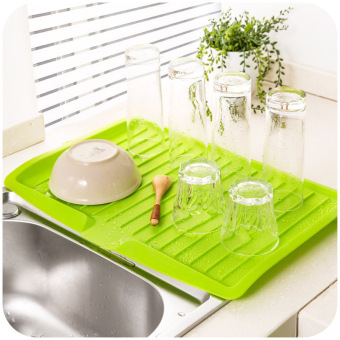 Harga Drain board dishes drain filter plate storage rack kitchen tools