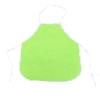 Harga Cute Kids Children Kitchen Baking Painting Apron(Green)