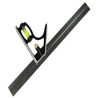Harga Adjustable Engineers Combination Try Square Set Angle Spirit Level 300mm(Export)(Intl)