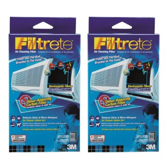 Harga (Bundle of 2) 3M 9808-2C Filtrete AirCon Charcoal Filter