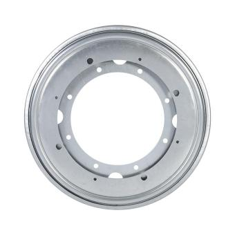 "Harga Round Galvanized Turntable Bearing Rotating Swivel Plate (9"" Silver) - intl"