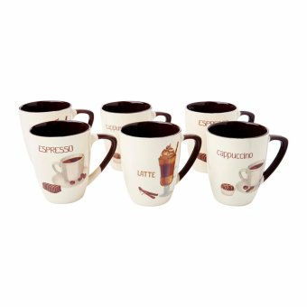 Harga Dolphin Collection Stone Mug 13oz (6pcs)