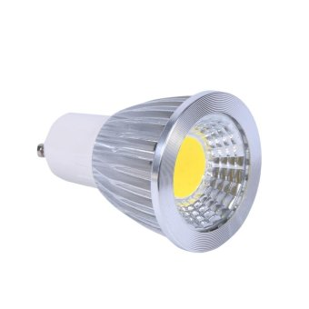 Harga 1pcs Ultra Bright Ultra Bright GU10 5W Cooler White COB Spot Lights Bulbs - intl