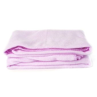 Harga Microfiber Towel 160G Light Purple