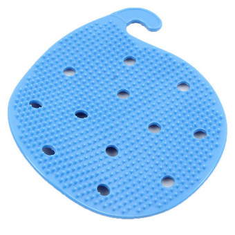 Hang-Qiao Cleaning Fruits Vegetables Scrubber Brush Blue