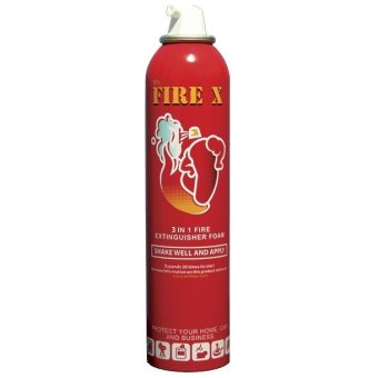Harga Mr Fire X Foam Fire Extinguishing Aerosol Spray (Bundle of 2)