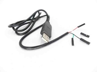 Harga USB Support to COM Module Cable USB To RS232 TTL UART PL2303HX Auto Converter - intl
