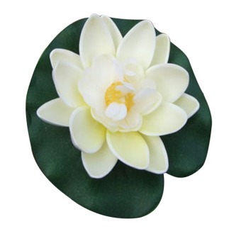 Harga Comebuy88 Artificial Lotus Water lily Floating Flower Decor Pool Pond Plant Ornament- - intl