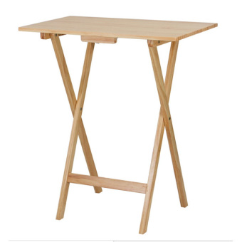 Harga Wooden Foldable Table Brown